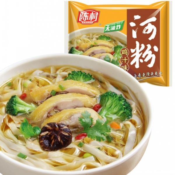 天天向上推荐广东特产速非油炸方便面食品陈村河粉鸡汁味85g米粉