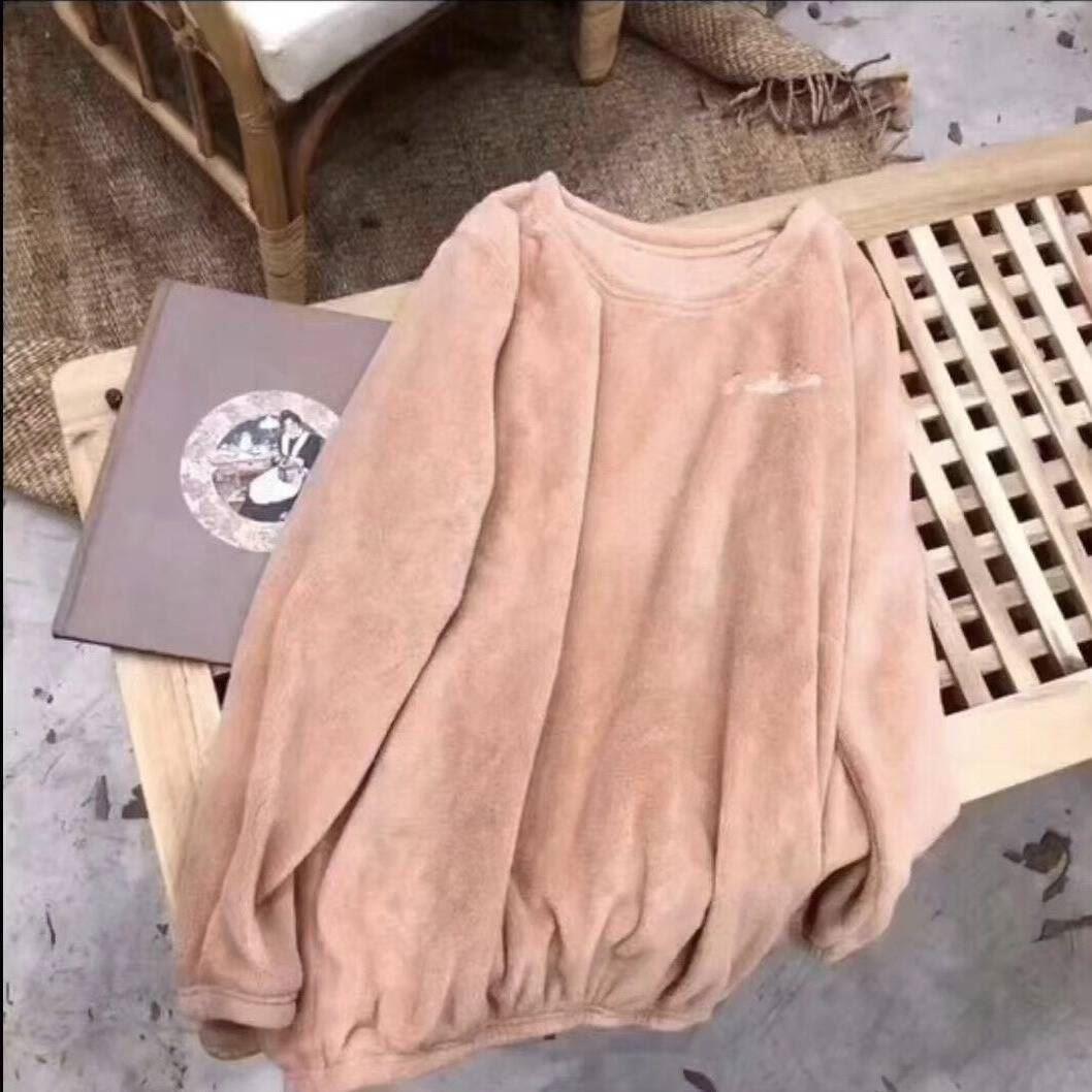 单件上衣仙女暖暖衣珊瑚绒冬季睡衣