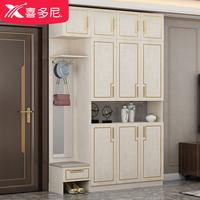 家用定制门口大容量储物柜子鞋柜质量如何