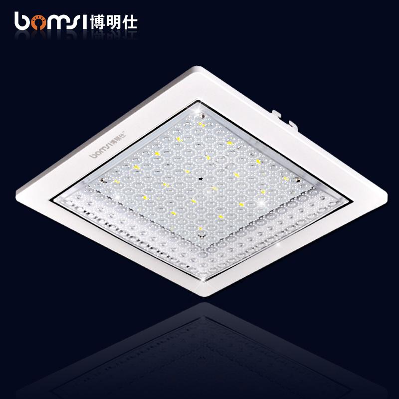 博明仕led吸頂燈廚房衛生間陽台廚衛浴室燈暗裝嵌入式過道防水
