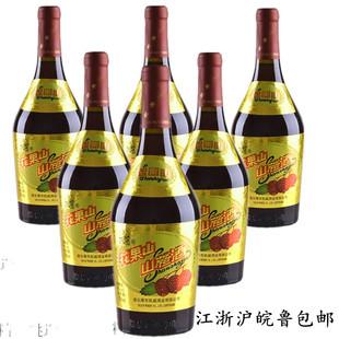 连云港特产果酒女士低度水果酒整箱老大肚6720ML花果山山楂酒