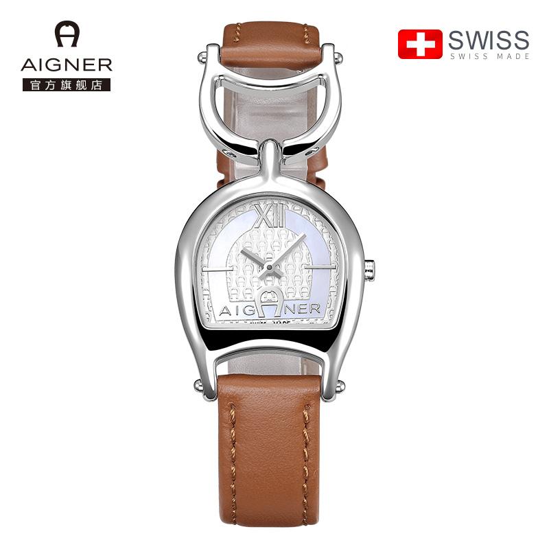 瑞士AIGNER艾格娜女式手表防水时尚款女2018新款石英表A32217E