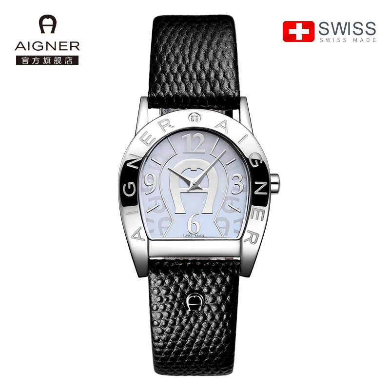 瑞士AIGNER艾格娜女式手表防水时尚款女2017新款正品女士手表DW09
