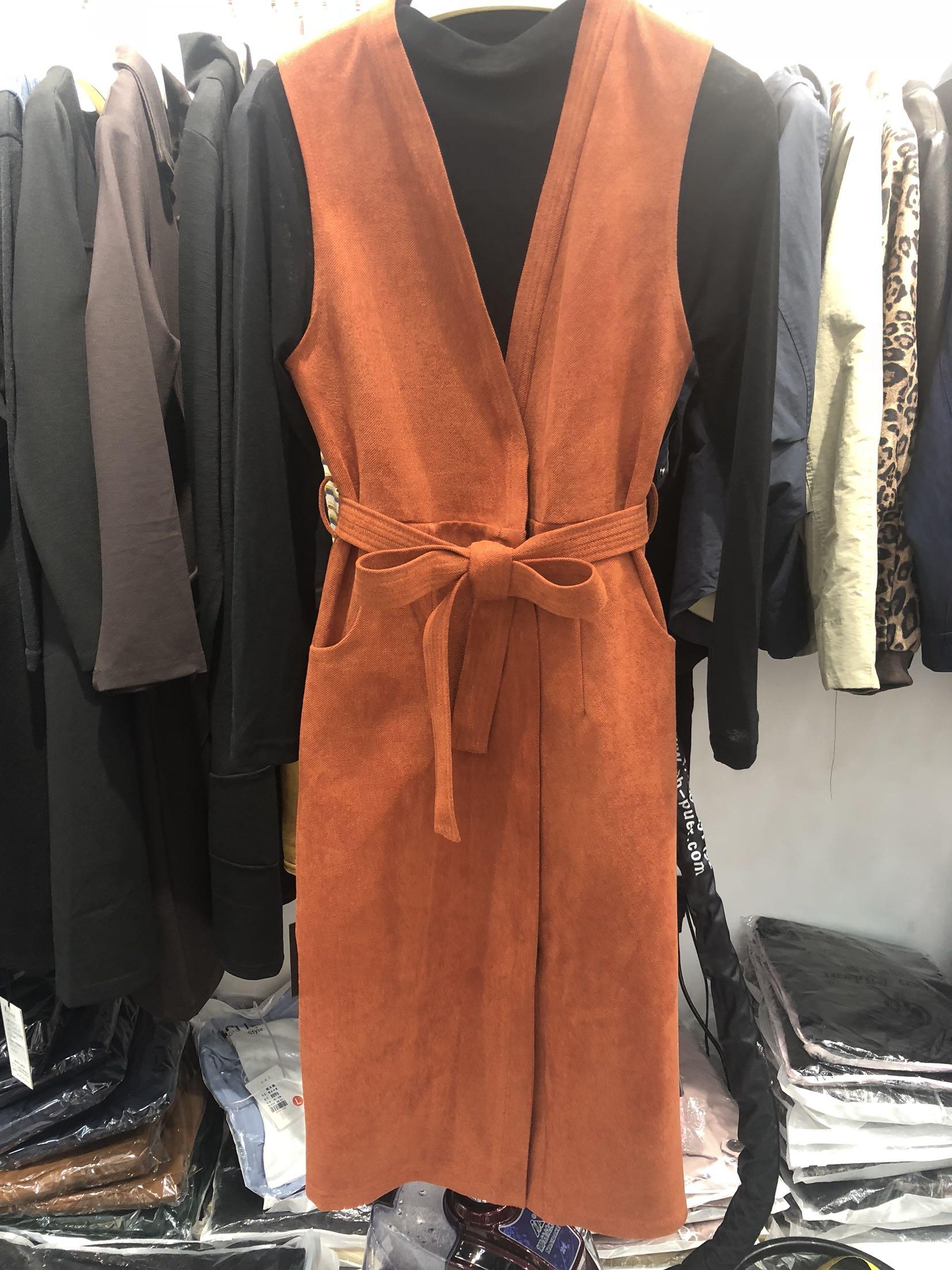 韩伊雪A988时髦新款套装女秋季背带裙两件套连衣裙套装修身显瘦女
