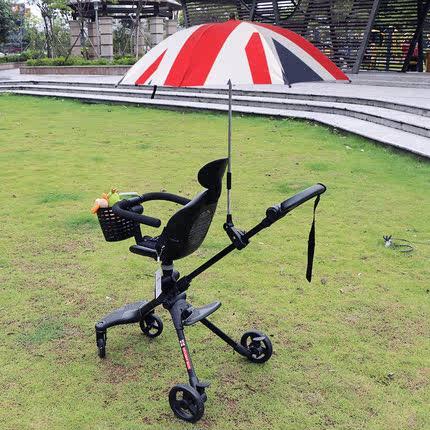 德拉玛溜娃遛娃推车配件遮阳伞婴儿