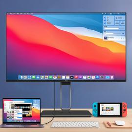 AOC專業2K/4K顯示器27英寸65W Type-C接口IPS屏幕HDR400設計制圖100%sRGB攝影Q27U2D臺式LG蘋果電腦32升降PS5圖片
