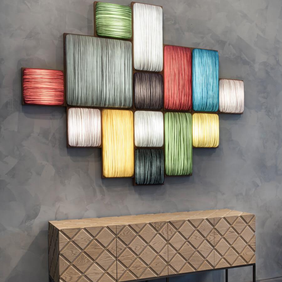 海洋布艺创意个性简约现代楼梯壁灯