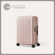 Ito new suitcase women's net red ins tide 20 inch pull rod suitcase super light small travel code boarder