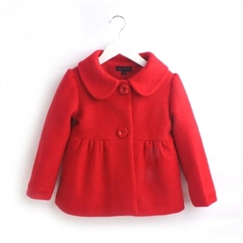 童装女童冬装2019新款韩版休闲呢大衣时尚儿童呢子外套女宝宝外套
