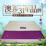澳莎品牌家用恒温水床垫豪华水床双人床单人热疗按摩加热水床进口