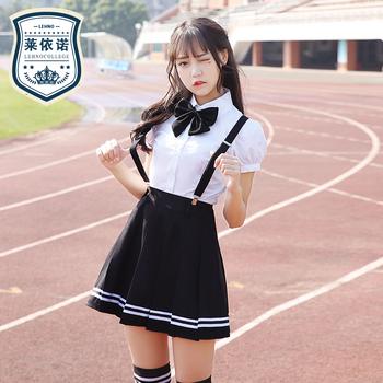 网红校服夏季学院风jk中学生水手服