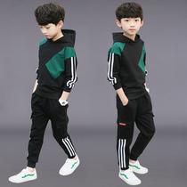 2020新款男童春装洋气套装运动卫衣儿童装韩版帅气潮时髦大童男孩
