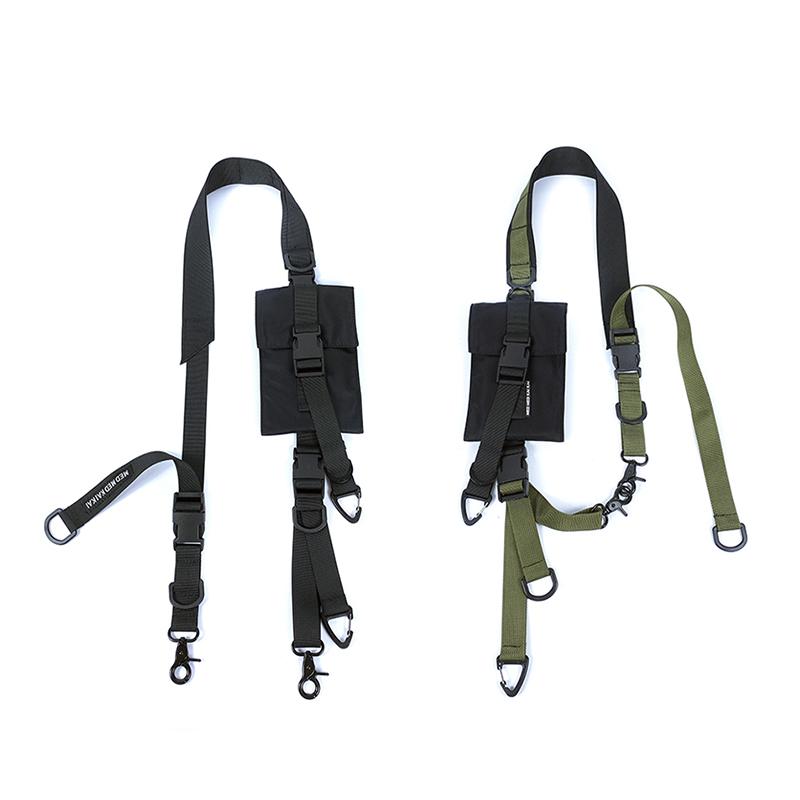 MEDKAI可拆卸模块机能手机包单肩带配件斜挎包带国潮战术胸包腰包
