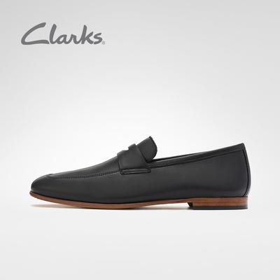 clarks其乐男鞋Code Step英伦商务正装皮鞋套脚便鞋乐福鞋豆豆鞋