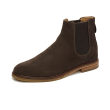 Clarks' men's shoes 19 winter high top retro England Chelsea boots short boots man Clarkdale Gobi