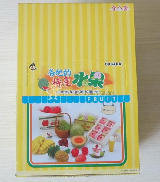 Плоды специальности «? ? сока анимация» вокруг оригинальной хитин orcara в штучной упаковке, Специальные продукты питания