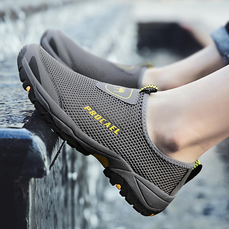 102男鞋夏季网鞋男士运动鞋跑步网面鞋透气休闲旅游网布鞋子