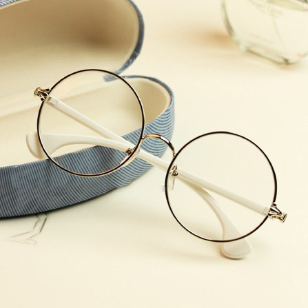 Chrome Hearts Retro Harajuku round glasses frame influx of female ...