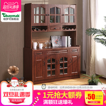 Modern Chinese dining cabinets kitchen Storage Cabinets cabinet locker Microwave European cupboard Tea water cabinet