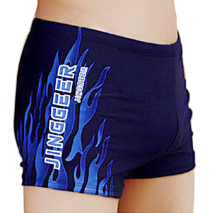 Genuine Hottinger men s swimming trunks three color flame pants flame pants have fully padded swim trunks XL