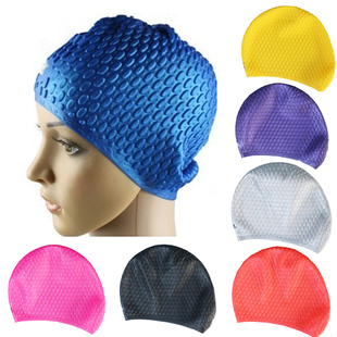 Send earplugs drop cap mushroom cap bubble skid particles large and comfortable waterproof silicone Swimming Cap