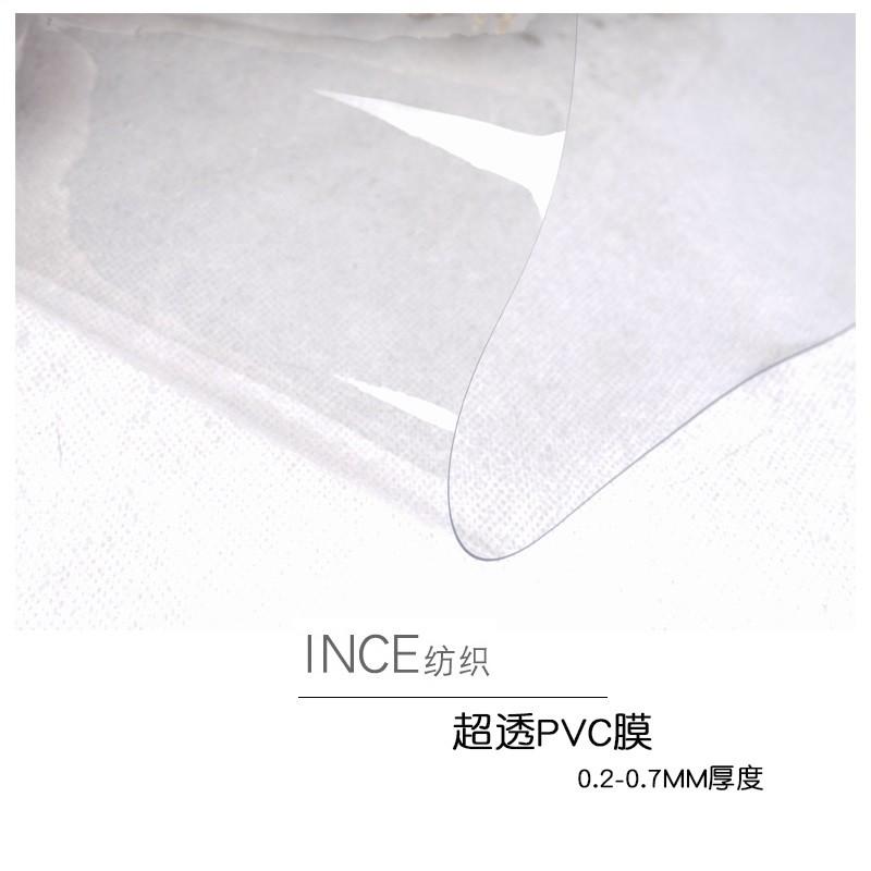 超透pvc膜面料做包包手袋的透明膜材料ins北欧防水手袋