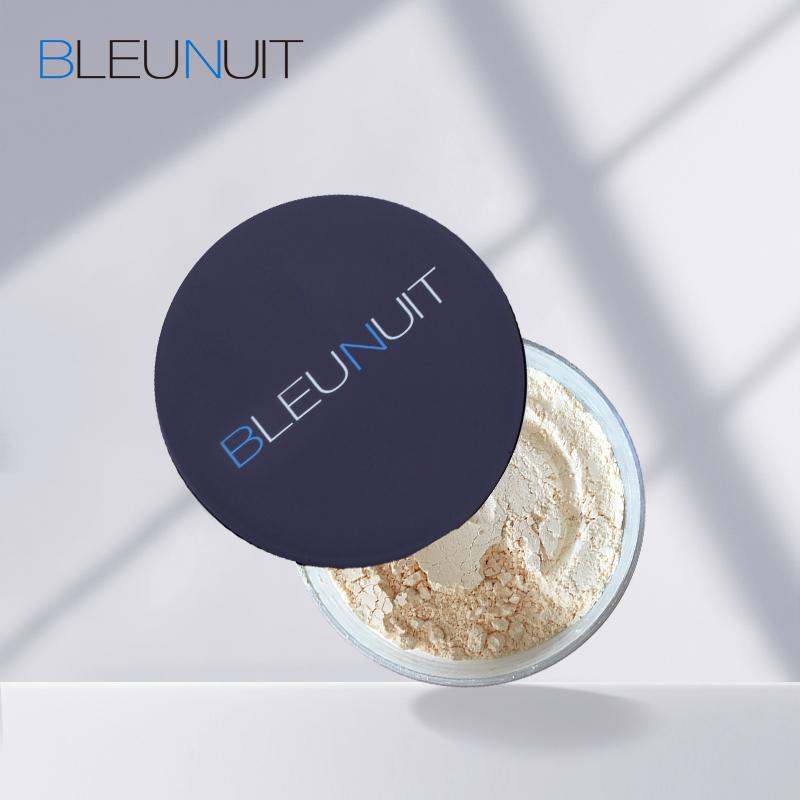 BLEUNUIT/深蓝彩妆丽颜花瓣蜜粉定妆散粉控油保湿遮瑕正品