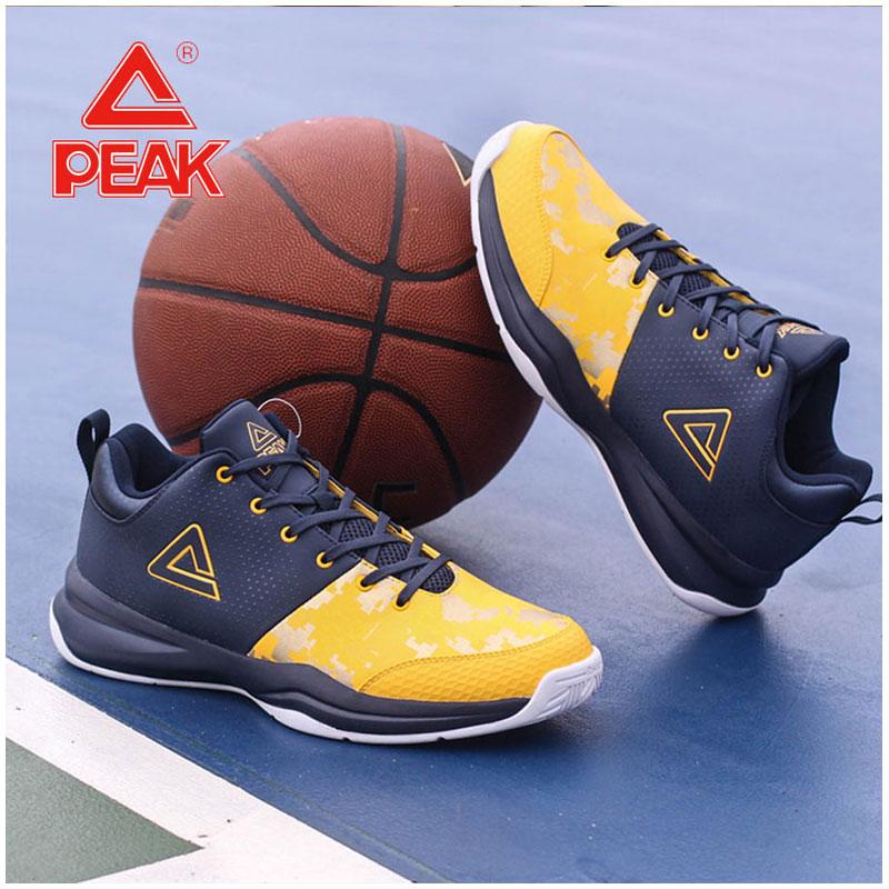 匹克男鞋篮球鞋 断码球鞋 秋季学生训练鞋 防滑耐磨实战迷彩战靴