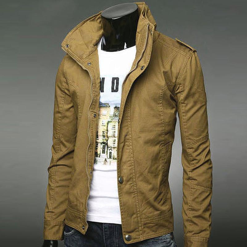 Тонкие пальто тонкий пиджак мужской куртки воротник версии Мужская повседневная рубашка тенденции весны и осени с Японией и Южной Кореей