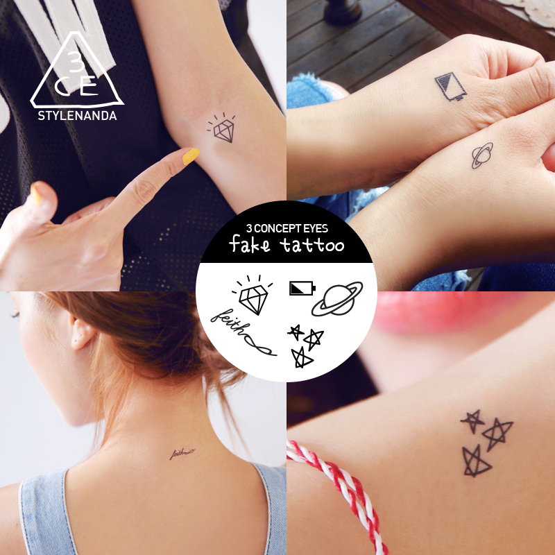 STYLENANDA官方 3CE  FAKE TATTOO 纹身贴 #02