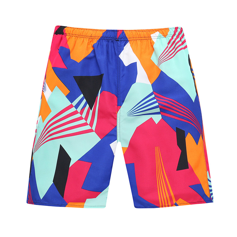 Beach pants mens Beach Resort shorts quick drying leisure sports outdoor Capris loose large floral shorts fashion