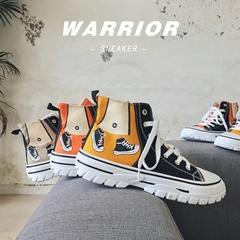 秋季高帮鞋男士休闲运动鞋学生百搭帆布鞋韩版时尚XZ1118-881P45
