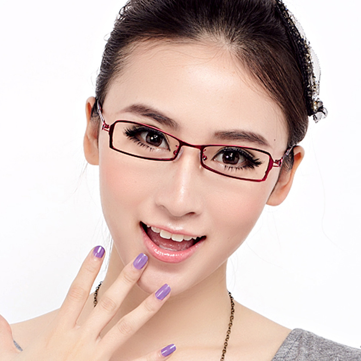Amazing Glasses Frame Glasses Frames Myopia Female Models Female Glasses Hairstyles For Women Draintrainus