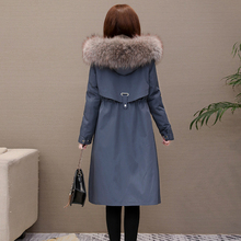 Tnng school overcomes women's 2019 new Nick suit mink fur coat whole mink liner fur coat fur one