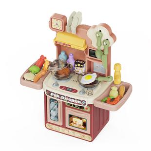 过家家迷你女孩做饭煮饭7厨房玩具