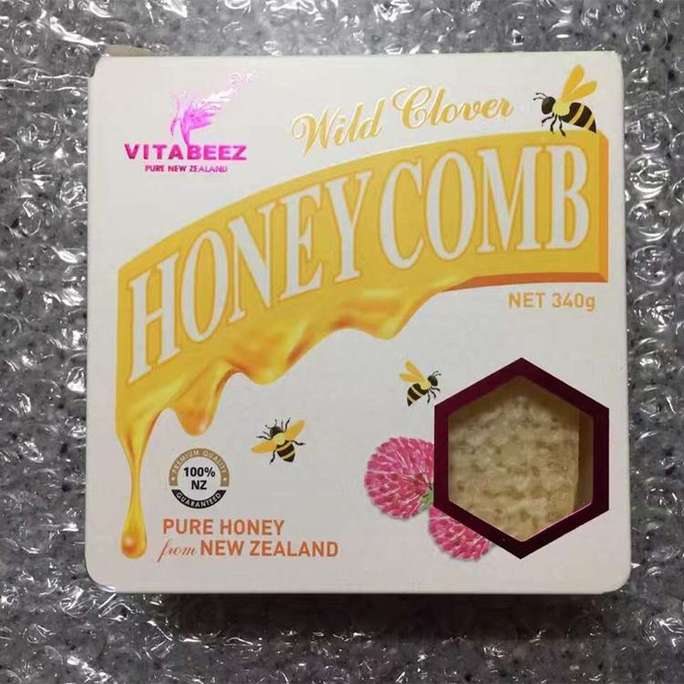 Новая зеландия Vitabeez природный дикий улей мед 340g здоровье еда из в предвкушении мед вкус ладан концентрированный