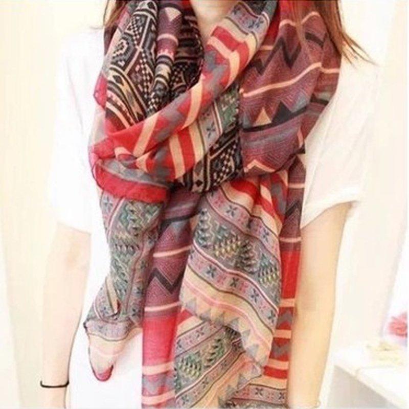 Женские шарфы из хлопка Артикул 586677666396