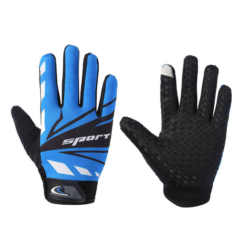 Cycling gloves for men and women non slip breathable wear-resistant mountaineering fitness equipment outdoor touch screen spring and autumn thin