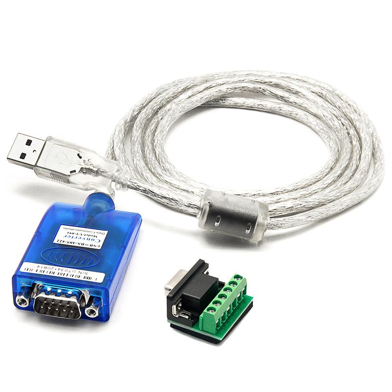 宇泰 USB轉485 422轉換線RS485轉USB工業級串口通訊轉換器UT~890a