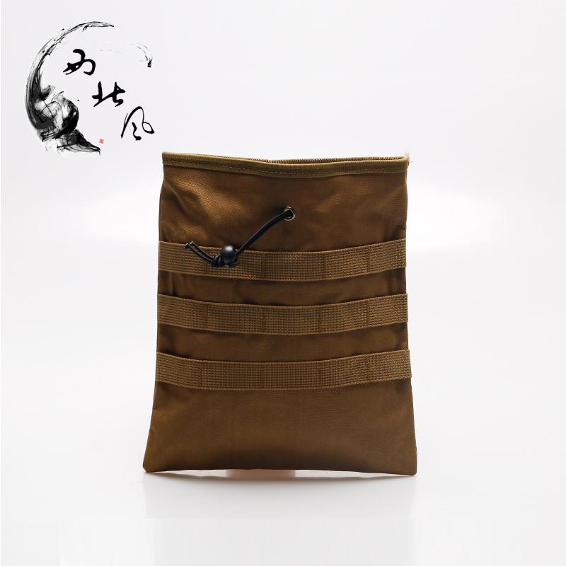 К северо-западу ветер армия фанатов тактический восстанавливать мешок Molle многофункциональный клипса доход коллекция мешок камуфляж чистый черный мешок аксессуар пакет
