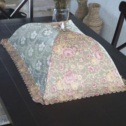 菜罩折叠饭菜罩餐桌罩食物罩防蝇罩长方形剩菜碗罩菜伞盖菜罩圆形