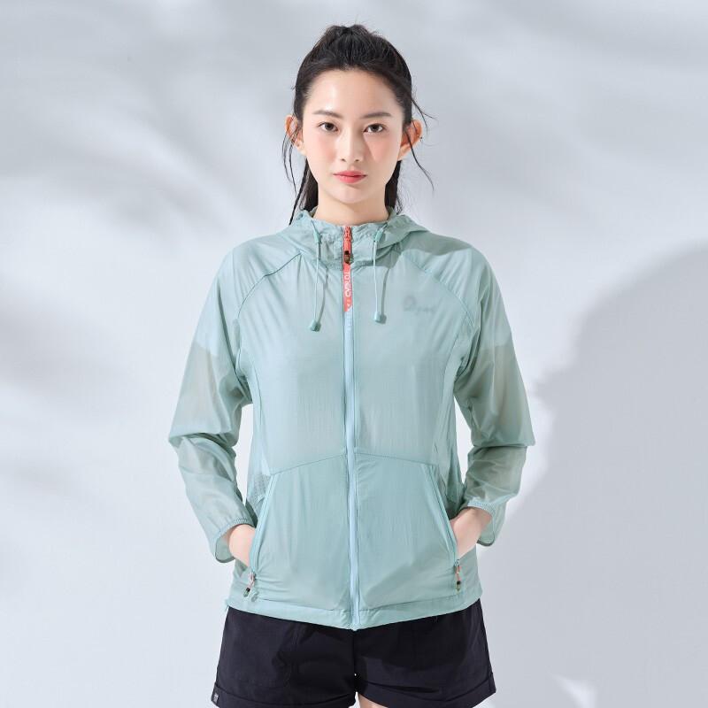 探路者 21新款 UFP 40+防晒 女轻薄透气皮肤衣