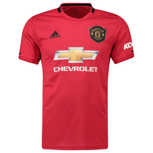 Adidas Premier League Manchester United 19-20 new football match short sleeve Home Jersey ed7386