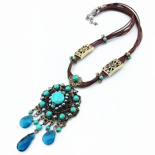 Hot spring explosion models jewelry bohemian retro jewelry woman wild Necklace Limited Time Discounts