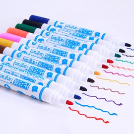 【画笔类】七巧板白板笔水性可擦儿童彩色画笔书写易擦画板配件图片