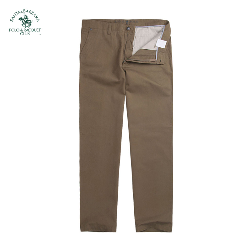 S. B.p.r.c / St. Paul mens straight tube solid color business casual pants