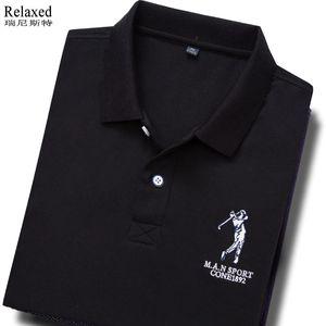 领5元券购买高尔夫球衣男夏装翻领golf短袖t恤
