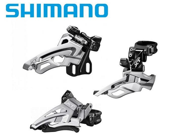 SHIMANO XT DEORE M6000 M8000 8025 8020 M781 D型E型直装前拨