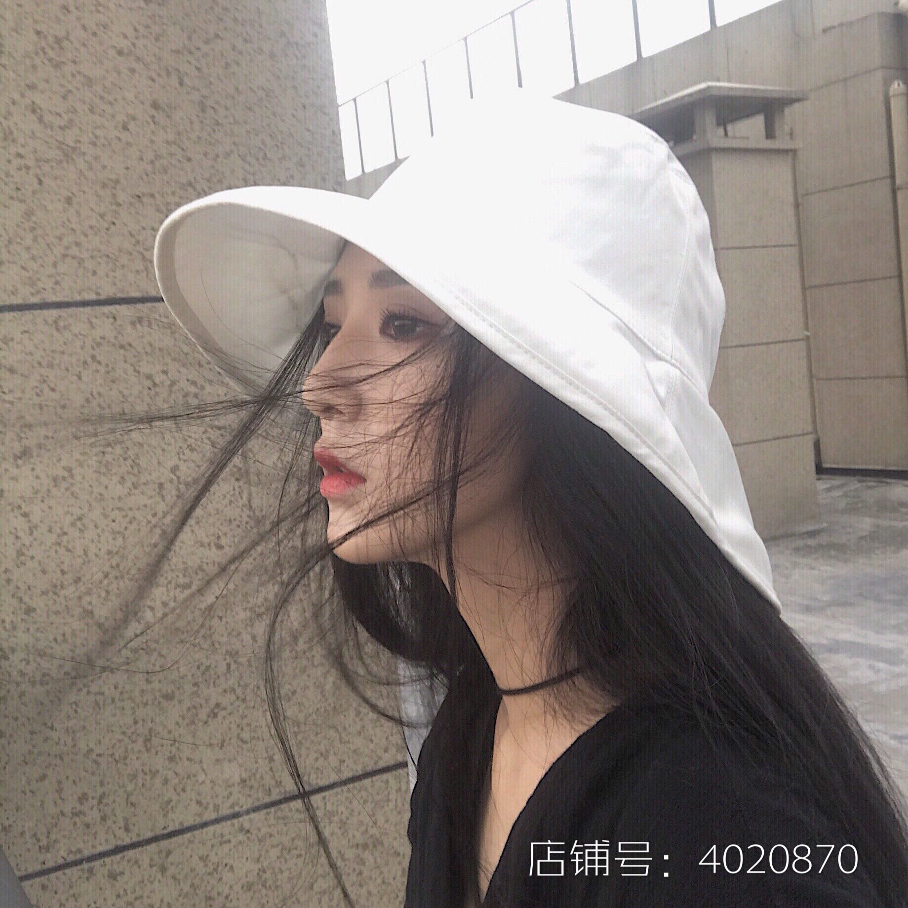 自带仙气~仙女风干净纯白色渔夫帽券后28.00元