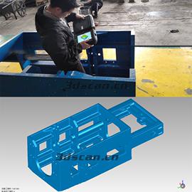 大型煤矿机三维扫描 重工三维检测 工业三维扫描仪 抄数服务图片